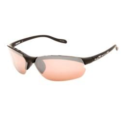 Native Eyewear Dash XP Sunglasses - Polarized Reflex Lenses, Interchangeable in Asphalt/Copper Reflex