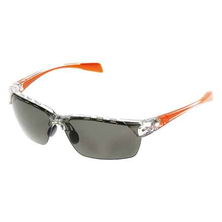 Native Eyewear Eastrim Sunglasses - Polarized, Extra Lenses in Crystal Orange/Gray - Closeouts