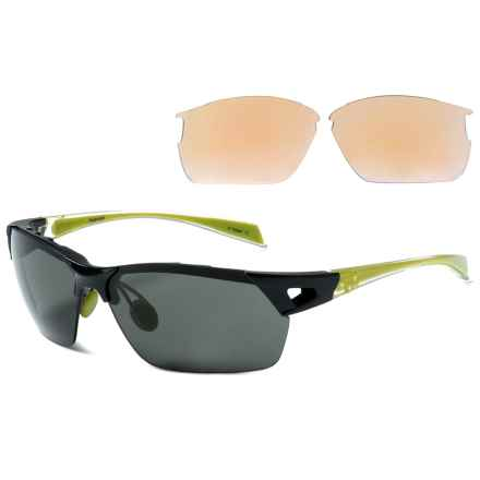 Native Eyewear Eastrim Sunglasses - Polarized, Extra Lenses in Iron Crystal/Gray - Overstock