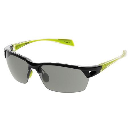 Native Eyewear Eastrim Sunglasses - Polarized, Extra Lenses in Iron Crystal Green/Gray