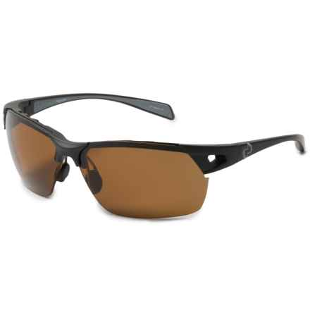 Native Eyewear Eastrim Sunglasses - Polarized, Extra Lenses in Matte Black/Polarized N3 Brown - Closeouts