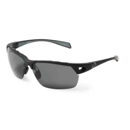 Native Eyewear Eastrim Sunglasses - Polarized in Matte Black/Gray - Closeouts