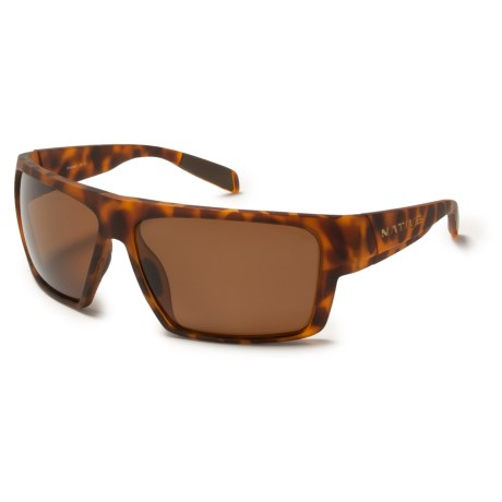 Native Eyewear Eldo Sunglasses - Polarized in Desert Tortoise/Brown