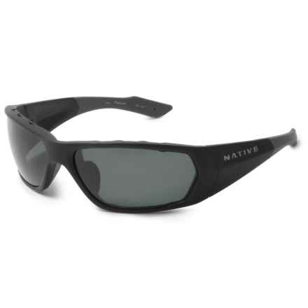 Native Eyewear Endo Sunglasses - Polarized, Extra Lenses in Matte Black/Gray - Closeouts