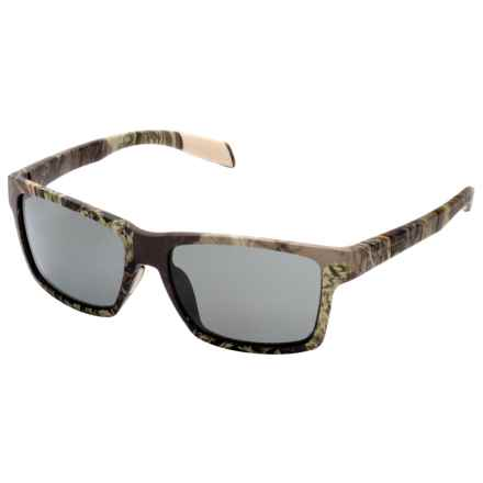 Native Eyewear Flatirons Camo Sunglasses - Polarized in Camo Max1/Gray - Closeouts