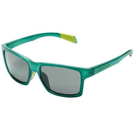 Native Eyewear Flatirons Sunglasses - Polarized in Evergreen Frost/Gray - Closeouts