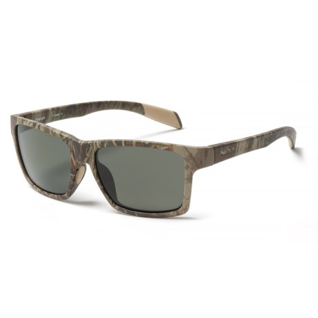 Native Eyewear Flatirons Sunglasses - Polarized in Realtree Camo/Gray