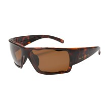 Native Eyewear Gonzo Sunglasses - Polarized in Maple Tortoise/Brown - Closeouts