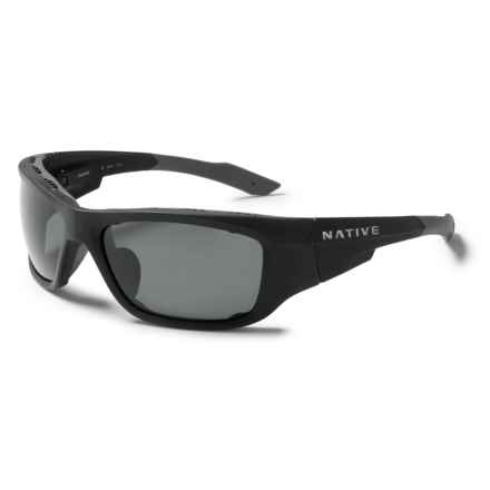 Native Eyewear Grind Sunglasses - Polarized in Asphalt /Gray - Closeouts