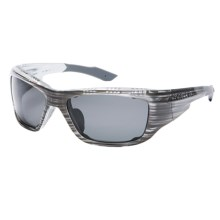 Native Eyewear Grind Sunglasses - Polarized, Interchangeable in Commando Stripe/Grey - Closeouts
