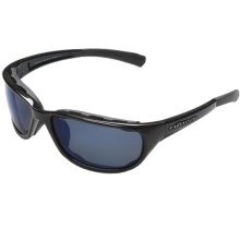Native Eyewear Grip Sunglasses - Polarized, Interchangeable Lenses in Iron/Blue Reflex - Closeouts