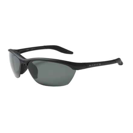Native Eyewear Hardtop Sunglasses - Polarized in Asphalt/Gray - Closeouts