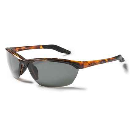 Native Eyewear Hardtop Sunglasses  - Polarized in Tobacco/Gray - Closeouts