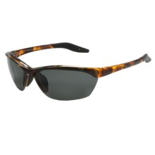 Native Eyewear Hardtop Sunglasses - Polarized, Interchangeable Lenses in Tobacco/Gray - Closeouts
