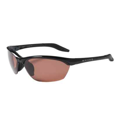 Native Eyewear HARDTOP SUNGLASSES W/ EXTRA LENSES - POLARIZED in Iron/Copper - Closeouts