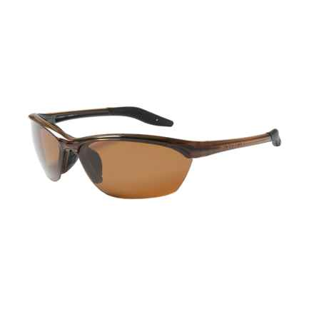 Native Eyewear HARDTOP SUNGLASSES W/ EXTRA LENSES - POLARIZED in Wood/Brown - Closeouts