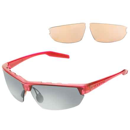 Native Eyewear Hardtop Ultra Sunglasses - Polarized, Extra Lenses in Red Frost/Gray - Closeouts