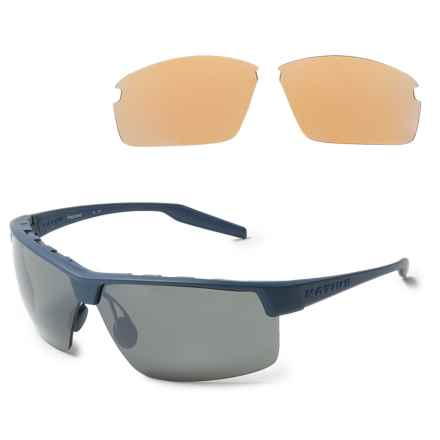Native Eyewear Hardtop Ultra XP Sunglasses - Polarized, Extra Lenses in Steel Blue/Silver Reflex - Overstock