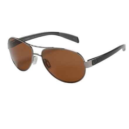 Native Eyewear Haskill Sunglasses - Polarized in Chrome Iron/Brown - Closeouts