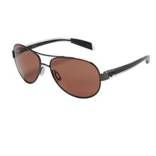 Native Eyewear Haskill Sunglasses - Polarized in Gunmetal Crystal/Copper - Closeouts