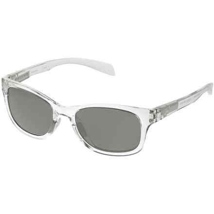 Native Eyewear Highline Sunglasses - Polarized in Chrystal White/Gray - Closeouts