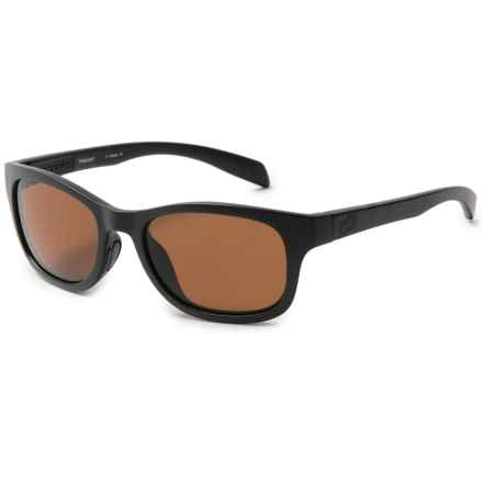 Native Eyewear Highline Sunglasses - Polarized in Matte Black/Polarized N3 Brown - Closeouts