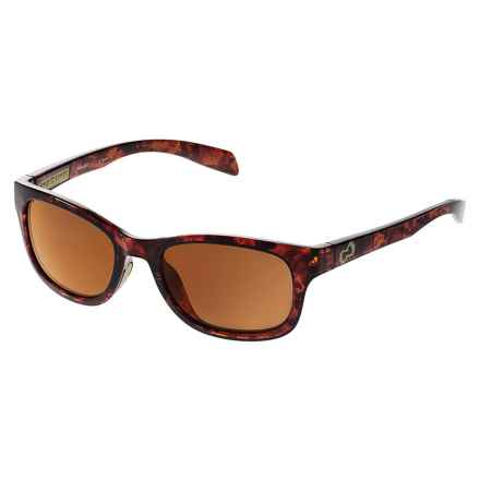 Native Eyewear Highline Sunglasses - Polarized Reflex Lenses in Maple Tortoise/Bronze Reflex - Closeouts