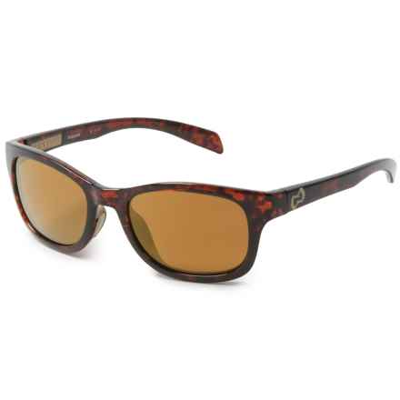Native Eyewear Highline Sunglasses - Polarized Reflex Lenses in Maple Tortoise/Sand/Bronze Reflex - Closeouts