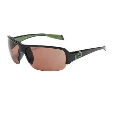 Native Eyewear Itso Sunglasses - Polarized W/Interchangeable Lens in Iron/Copper - Closeouts