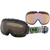 Native Eyewear Kicker Snowsport Goggles - Interchangeable Polarized Lenses