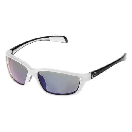 Native Eyewear Kodiak Sunglasses - Polarized, Extra Lenses in Snow Iron/Blue Reflex - Closeouts