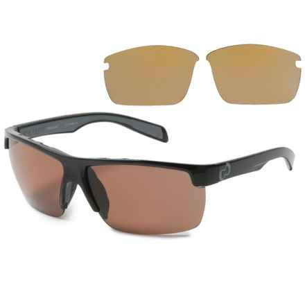 Native Eyewear Linville Sunglasses - Polarized in Gloss Black/Copper - Closeouts