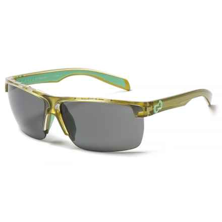 Native Eyewear Linville Sunglasses - Polarized in Metallic Fern/Gray - Closeouts