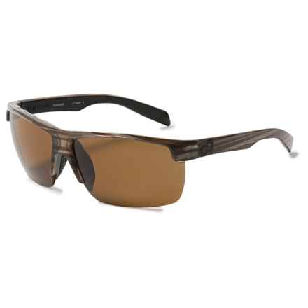 Native Eyewear Linville Sunglasses - Polarized in Wood/Brown - Closeouts