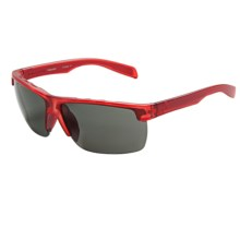 Native Eyewear Linville Sunglasses - Polarized, Interchangeable Lenses in Red Frost/Gray - Closeouts