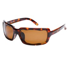 Native Eyewear Lodo Sunglasses - Polarized (For Women) in Maple Tortoise/Brown - Closeouts