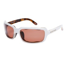 Native Eyewear Lodo Sunglasses - Polarized (For Women) in Sahara Snow/Copper - Closeouts