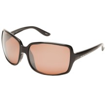 Native Eyewear Lulu Sunglasses - Polarized Reflex Lenses (For Women) in Iron/Copper Reflex - Closeouts