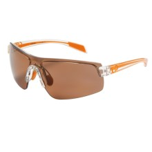 Native Eyewear Lynx Sunglasses - Polarized, Interchangeable Lenses in Crystal Orange/Copper - Closeouts