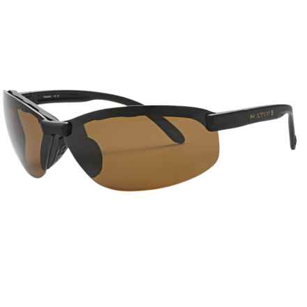 Native Eyewear Nano 2 Sunglasses - Polarized, Extra Lenses in Asphalt/Brown - Closeouts