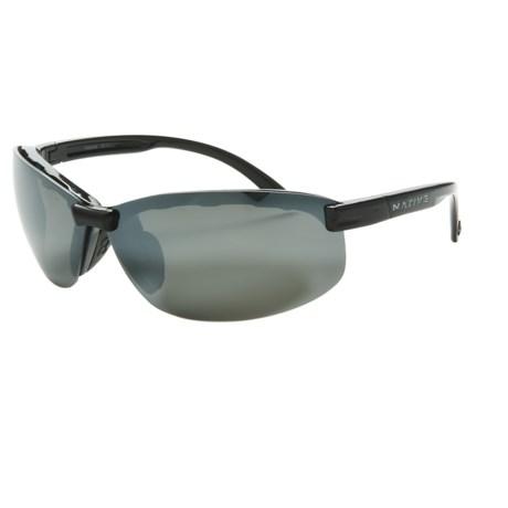 Native Eyewear Nano 2 Sunglasses - Polarized Reflex Lenses in Iron/Silver Reflex