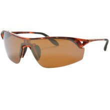 Native Eyewear Nova Sunglasses - Polarized Reflex Lenses in Maple Tortoise/Bronze Reflex - Closeouts