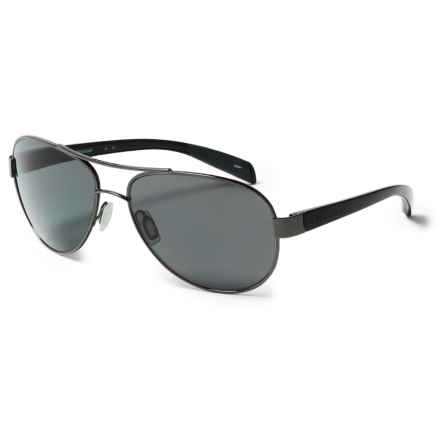 Native Eyewear Patroller Sunglasses - Polarized in Gunmetal Iron/Gray - Closeouts