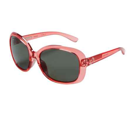 Native Eyewear Perazzo Sunglasses - Polarized (For Women) in Crystal Rose/Gray - Closeouts