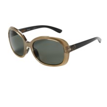 Native Eyewear Perazzo Sunglasses - Polarized (For Women) in Metallic Gold/Gray - Closeouts