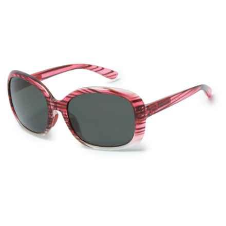 Native Eyewear Perazzo Sunglasses - Polarized (For Women) in Sangria Fade/Gray - Closeouts