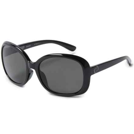 Native Eyewear Perazzo Sunglasses - Polarized (For Women) in Shiny Black/Polarized N3 Gray - Closeouts