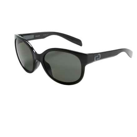 Native Eyewear Pressley Sunglasses - Polarized (For Women) in Gloss Black Iron/Gray - Closeouts