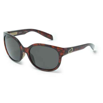 Native Eyewear Pressley Sunglasses - Polarized (For Women) in Maple/Tortoise/Gray - Closeouts