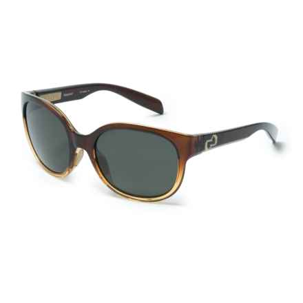 Native Eyewear Pressley Sunglasses - Polarized (For Women) in Stout Fade/Gray - Closeouts